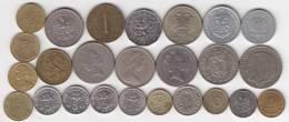 @Y@   Lot  WERELDMUNTEN    (  W 34 ) See Scan - Monnaies