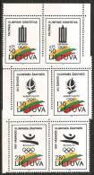 Lituania 1992 Nuovo** - Mi. 496/98 Coppia - Lituania