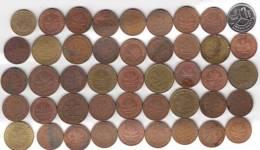 @Y@   Lot  WERELDMUNTEN    (  W 35 ) See Scan - Monnaies