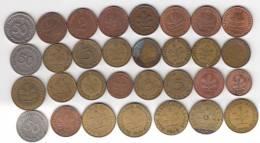 @Y@   Lot  WERELDMUNTEN    (  W 36 ) See Scan - Monnaies