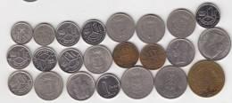 @Y@   Lot  WERELDMUNTEN    (  W 37 ) See Scan - Autres Monnaies
