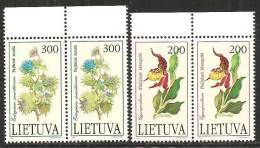 Lituania 1992 Nuovo** - Mi. 499/500  N° 2 Serie - Lituania