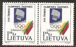 Lituania 1994 Nuovo** - Mi. 547 X2; 548/49 - Lituania