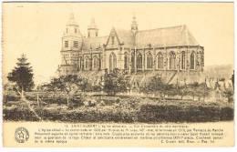 """Carte Postale """"Saint-Hubert - L´Eglise Abbatiale - Vue D´ensemble Du Côté Méridional - Saint-Hubert"""