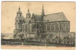 """Carte Postale """"Saint-Hubert - L´Eglise Vue De Côté"""" - Saint-Hubert"""