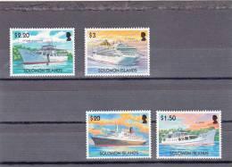 Salomon Nº 1039 Al 1042 - Solomon Islands (1978-...)