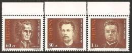 Lituania 1994 Nuovo** - Mi. 550/2; 554Q; 557/59; 560 Coppia - Lituania