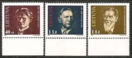 Lituania 1996 Nuovo** - Mi. 599/607 - Lituania