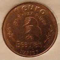 1 Euro Temporaire Precurseur De BEAUVAIS  1997, RRRR, Gute Erhaltung, BR-R, Nr. 99 - Euro Der Städte