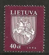 Lituania 1996/97 Nuovo** - Mi. 609; 613/16; 627/29 - Lituania