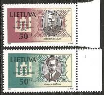 Lituania 1997 Nuovo** - Mi. 632/33; 643; 645/46 - Lituania