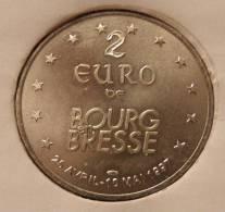 2 Euro Temporaire Precurseur De BOURG EN BRESSE  1997, RRRR, Gute Erhaltung, NI, Nr. 139 - Euro Der Städte