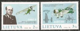Lituania 1998 Nuovo** - Mi. 662/63 - Lituania