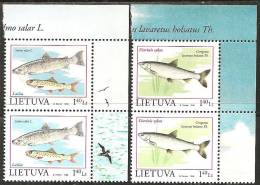 Lituania 1998 Nuovo** - Mi. 671/72  2x - Lituania
