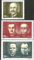 Lituania 1998 Nuovo** - Mi. 665/67; 680/81 - Lituania