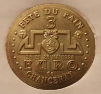 3 Euro Temporaire Precurseur De CHANCENAY  1996, RRRR, Gute Erhaltung, BR, Nr. 187, Only 500 Ex.!!! - Euro Der Städte