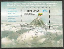 Lituania 1997 Nuovo** - Mi. Bloc 10 - Lituania