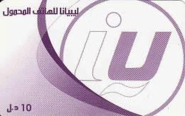 Libye, Prepaid - Libya