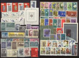 POLAND 1962 POLISH STAMPS PHILATELIC YEAR SET USED ANNEE ANO ANNO JAHRGANG SET MNH POLOGNE POLEN POLONIA - 1944-.... Republic