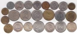 @Y@   Lot  WERELDMUNTEN    (  W 38 ) See Scan - Monnaies