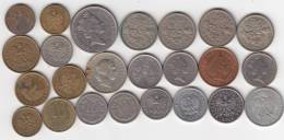 @Y@   Lot  WERELDMUNTEN    (  W 39 ) See Scan - Autres Monnaies