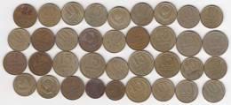 @Y@   Lot  WERELDMUNTEN    (  W 40 ) See Scan - Monnaies