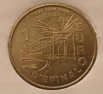 1 Euro Temporaire Precurseur D´EPINAL 1998, RRRR, Gute Erhaltung, BR, Nr. 289 - Euro Der Städte