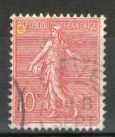 """N°129 Type II_""""R"""" Sans Ombre_cote 6.00 - 1903-60 Semeuse Lignée"""