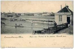 14 COURSEULLES-SUR-MER - Parcs Aux Huîtres De La Maison Héroult Ainé - (dos 1900 Non Divisé) - Courseulles-sur-Mer