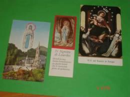 31 - Lotto 3 Santini - N.S.LOURDES - S.Rosario Di POMPEI  - Santuario - Images Religieuses