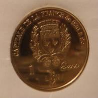 1 Euro Temporaire Precurseur LAON  1998, RRRR, Gute Erhaltung, NI, Nr. 367 - Euro Der Städte