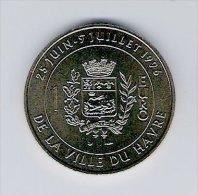 1 Euro Temporaire Precurseur LE HAVRE  1996, RRRR, Gute Erhaltung, BR, Nr. 375 - Euro Der Städte