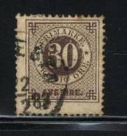 Sweden Scott # 35a ( Z1 ) USED  Value $ 3.00 - Oblitérés