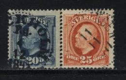 Sweden Scott #  75-76 USED  Value $ 19.00 - Gebraucht