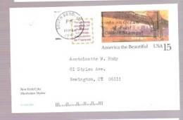Postal Card - America The Beautiful 59th Street Bridge, New York City - Postmarked Splash Into An Ocean Of Fun! Collect. - Postal Stationery
