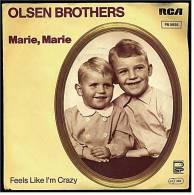 "Single Vinyl, 7"", 45 RPM  ,  OLSEN BROTHERS  - Marie , Marie  /  Feels Leke I'm Crazy  - Von 1982 - Disco, Pop"