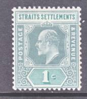 Straits Settements  93  *  Wmk. 2 CA - Straits Settlements