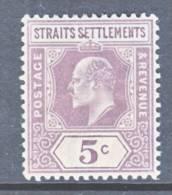 Straits Settements  96 *   Wmk. 2  CA - Straits Settlements