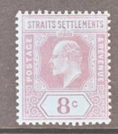 Straits Settements  97 *   Wmk. 2  CA - Straits Settlements