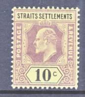 Straits Settements  98 *   Wmk. 2  CA - Straits Settlements