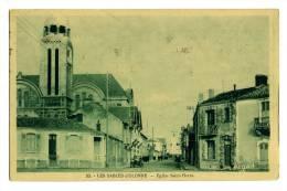 Sables D'Olonne Eglise Saint Pierre - Sables D'Olonne