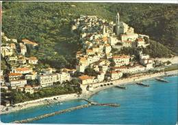 Italy, Riviera Dei Fiori, Cervo Ligure, Panorama Aereo, 1985 Used Postcard [P9705] - Imperia