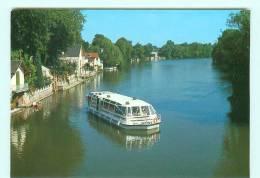 OLIVET - LOIRET  Bateau-mouche , Péniche Le Sologne - Péniches