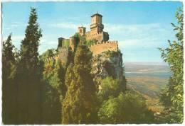 Repubblica Di S. Marino, La Prima Torre, The First Tower, Unused Postcard [13412] - San Marino