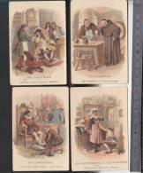 Bon-Point - Enseignement - Chromo - Farine Salvy - LOT De 4 - Vignerons, Gantiers, Cordonniers - Trade Cards