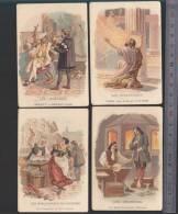 Bon-Point - Enseignement - Chromo - Farine Salvy - LOT De 4 - Verriers, Orfevres, Sculpteurs - Trade Cards