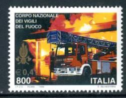 ITALIA / ITALY 1999** - Corpo Nazionale Vigili Del Fuoco - 1 Val. MNH Come Da Scansione - Firemen
