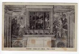 ^ FERNO VARESE CHIESA S.MARIA PALA E ALTARE A1 - Varese