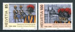 SVIZZERA / HELVETIA 2005** - Guardia Svizzera Pontificia - 2 Val. MNH Come Da Scansione - Militaria