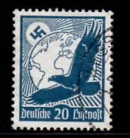 Germany 1934 20pf Swastika, Sun, Globe And Eagle Issue #C49 - Germania